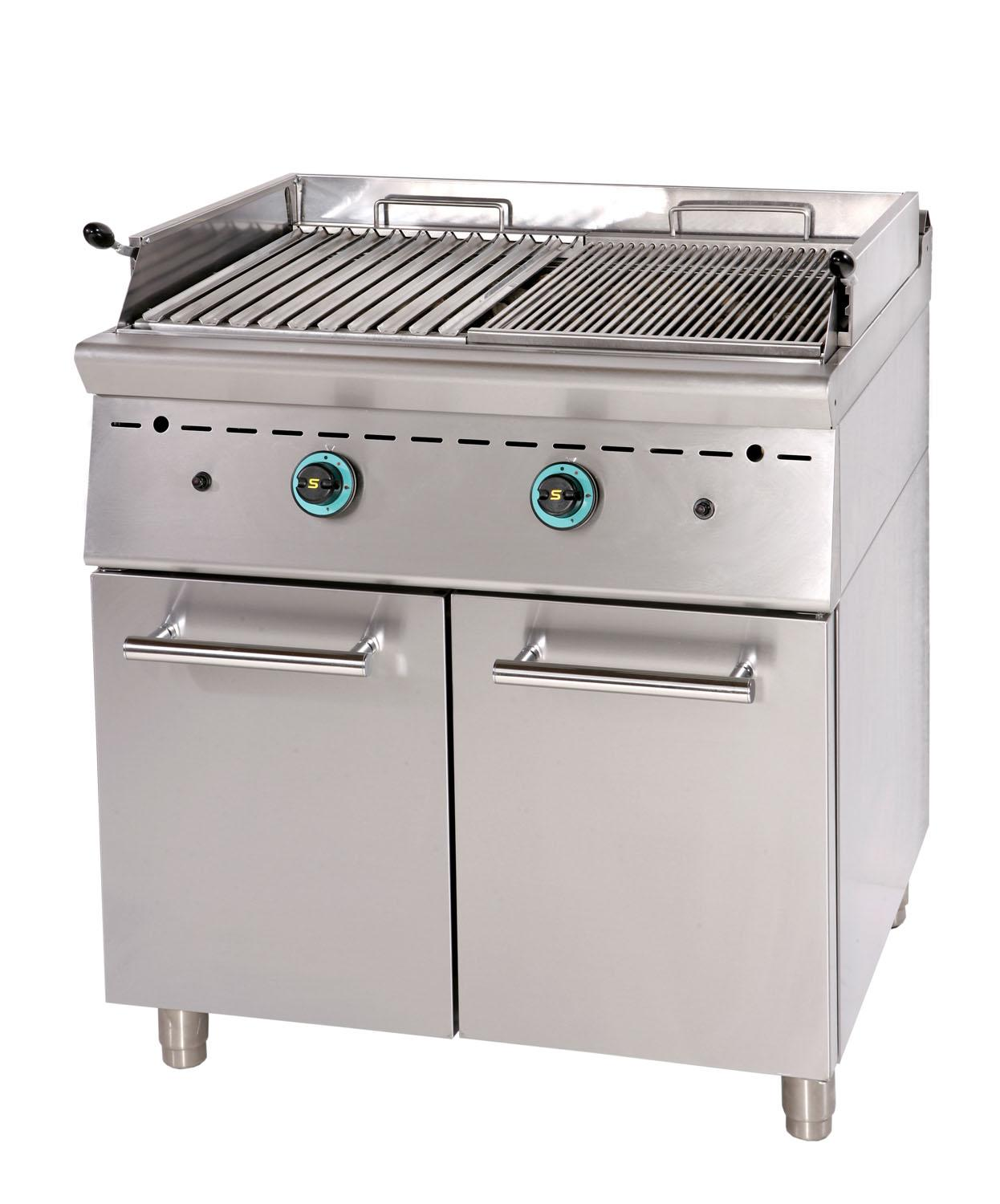 grills - gas grills with lava stones - gas lava stone grill gr8s7